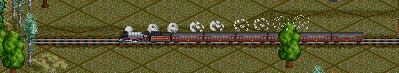 Поезд из канадского набора